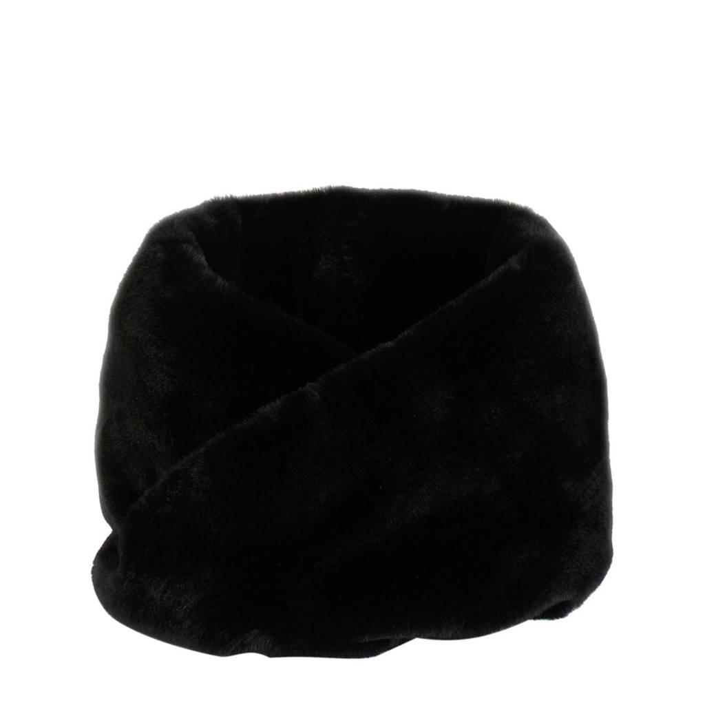 Parfois colsjaal zwart, Zwart