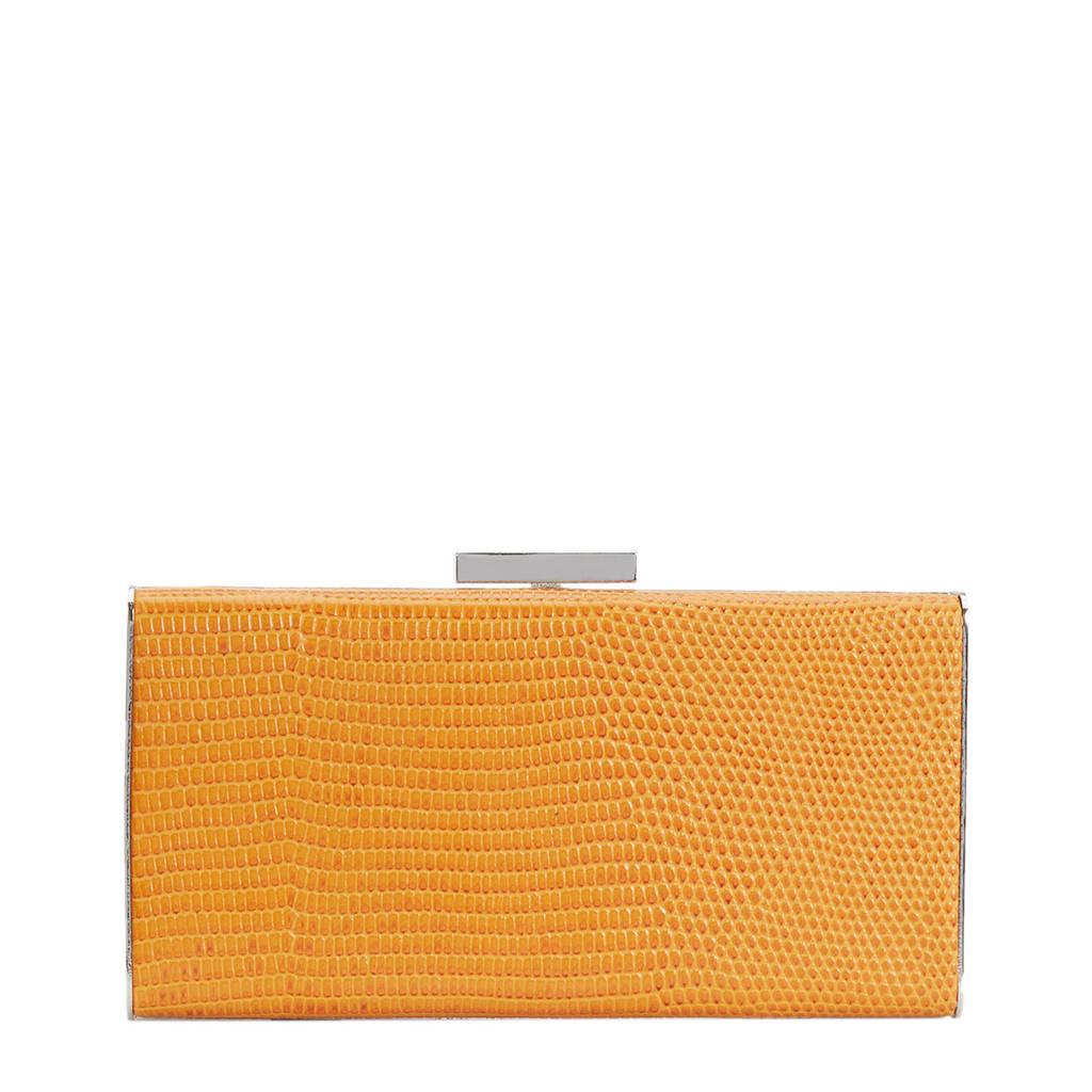 Parfois box bag geel, Geel