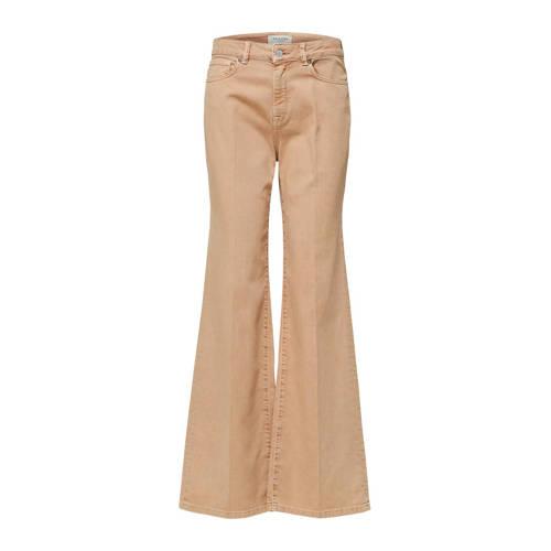 SELECTED FEMME flared jeans camel