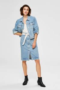 SELECTED FEMME spijkerjasje blauw, Blauw