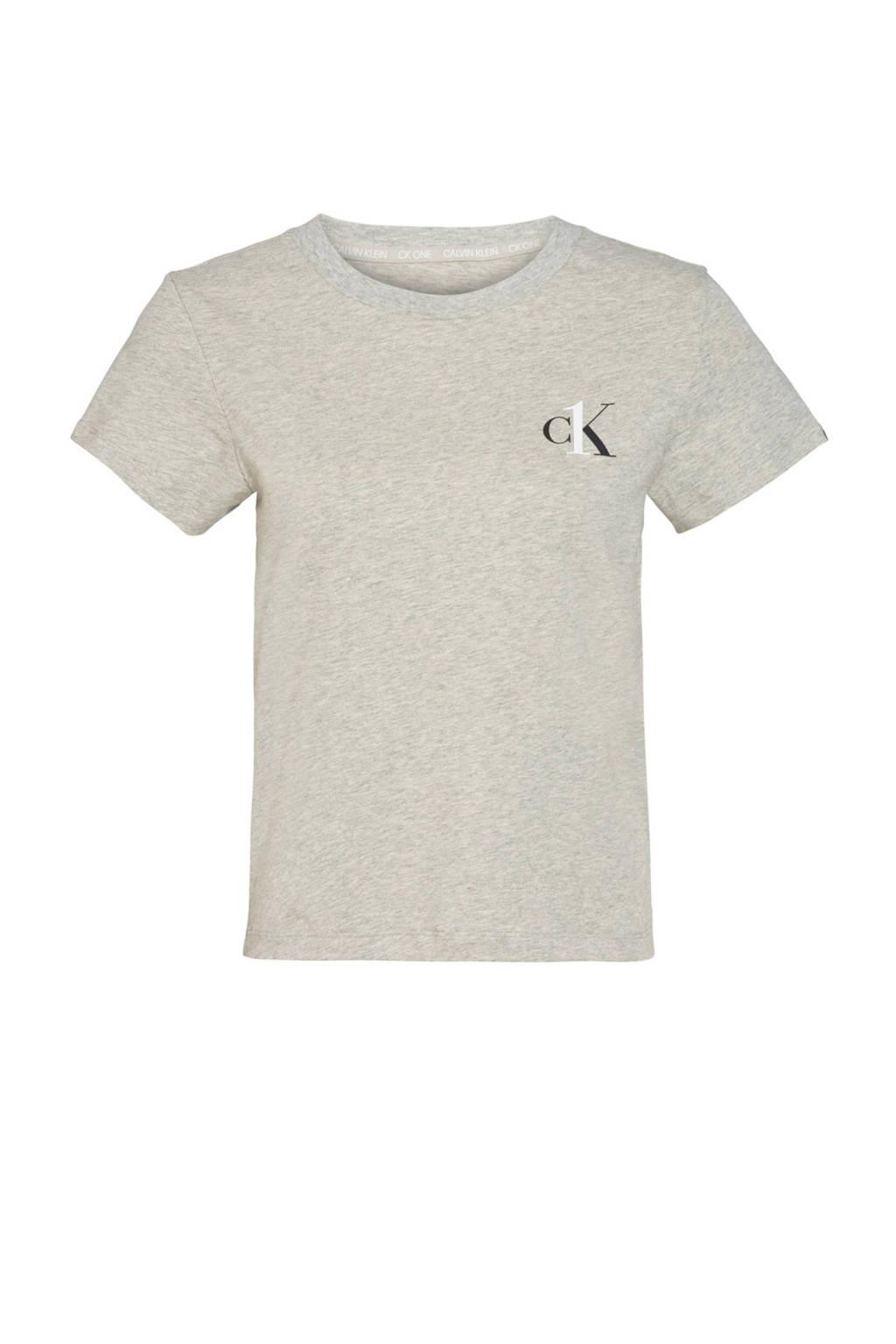 CALVIN KLEIN UNDERWEAR T-shirt grijs, Grijs