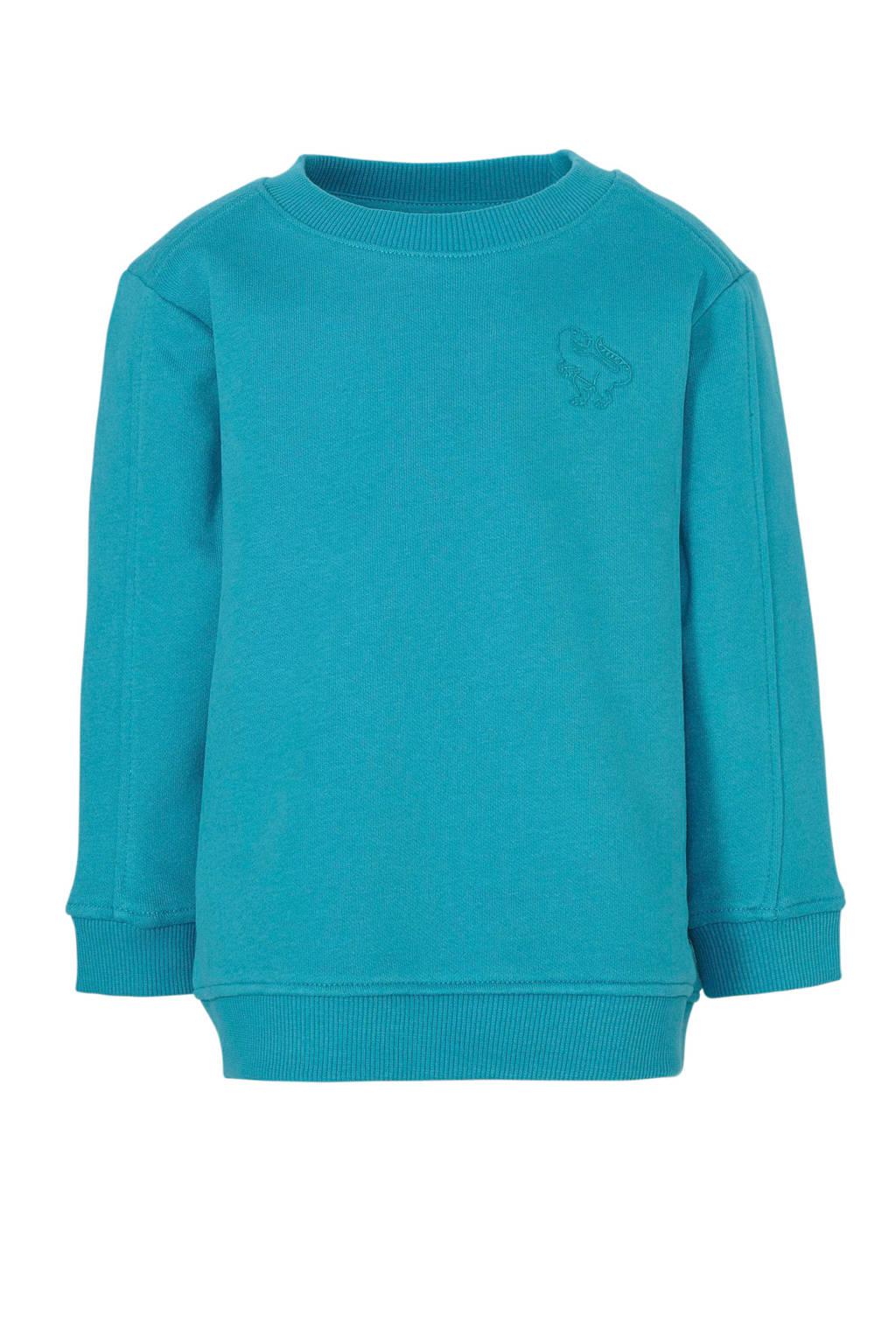 C&A sweater met borduursels blauw, Blauw