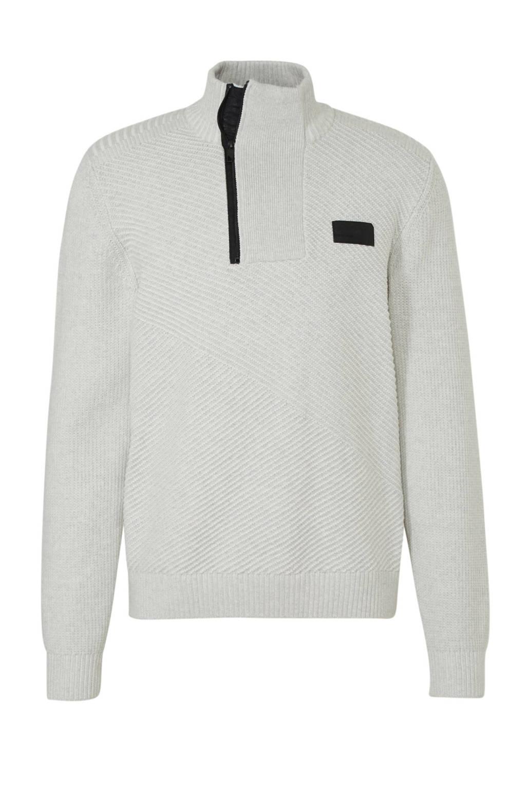 C&A Angelo Litrico sweater met printopdruk ecru, Ecru