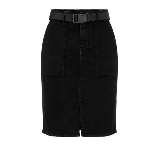 PIECES rok zwart