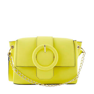crossbody tas geel