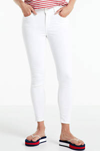 PIECES skinny jeans PCDELLY bright white, Wit