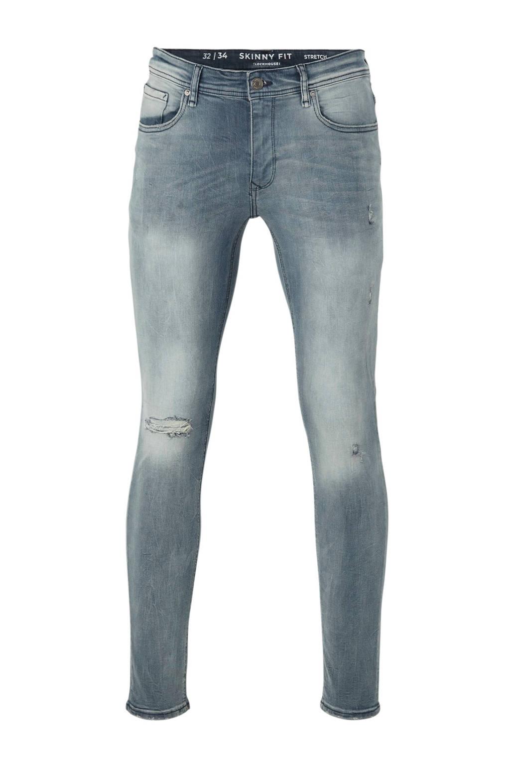 C&A slim fit jeans light denim, Light denim