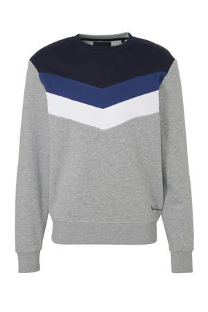 Angelo Litrico sweater met biologisch katoen grijs