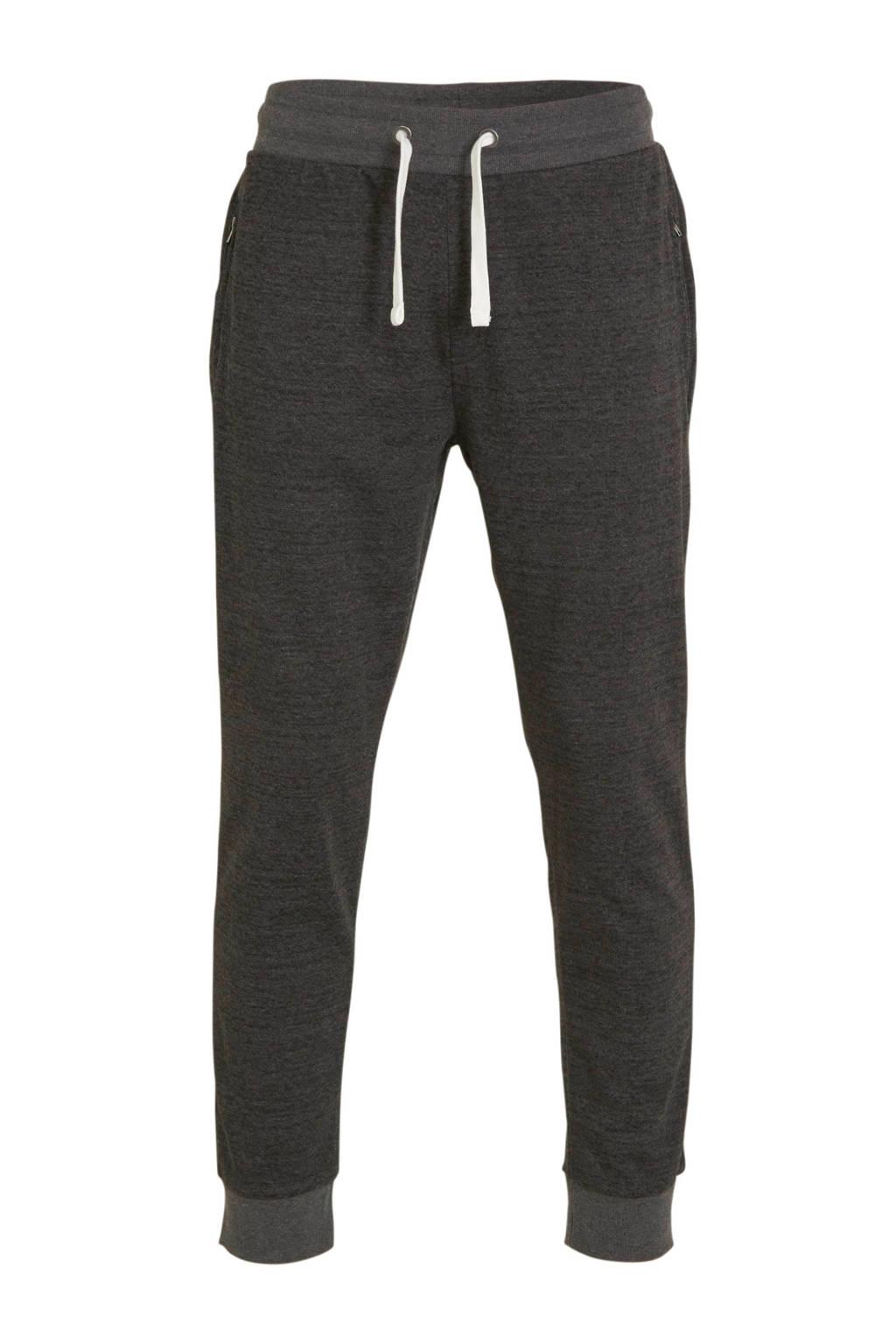 C&A regular fit joggingbroek zwart, Zwart