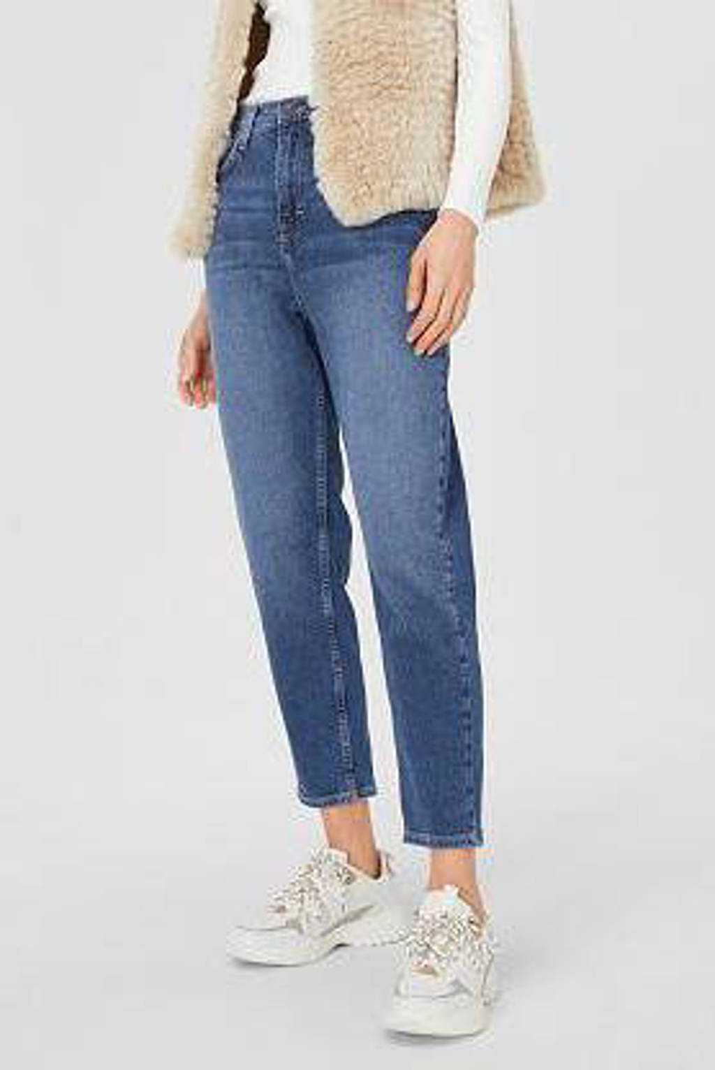 C&A The Denim mom fit jeans blauw, Blauw