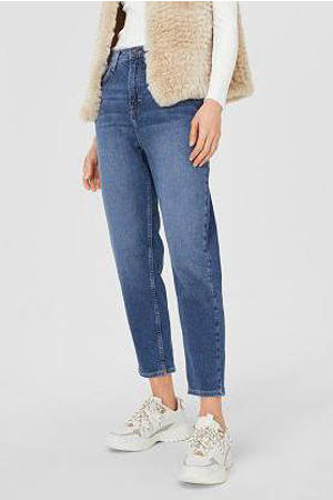 mom fit jeans blauw