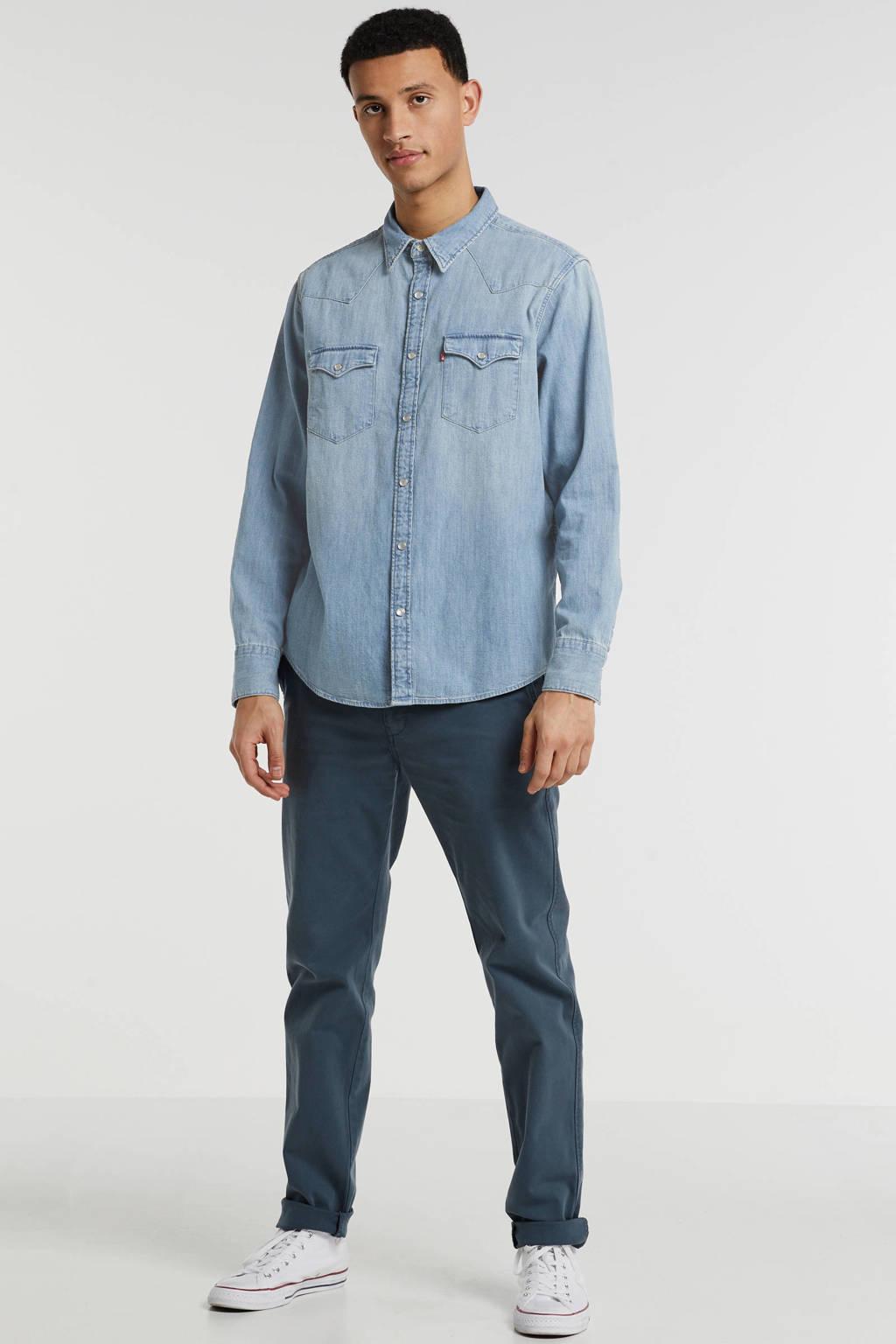 Levi's regular fit overhemd lichtblauw, Lichtblauw