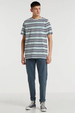 tapered fit chino grijs