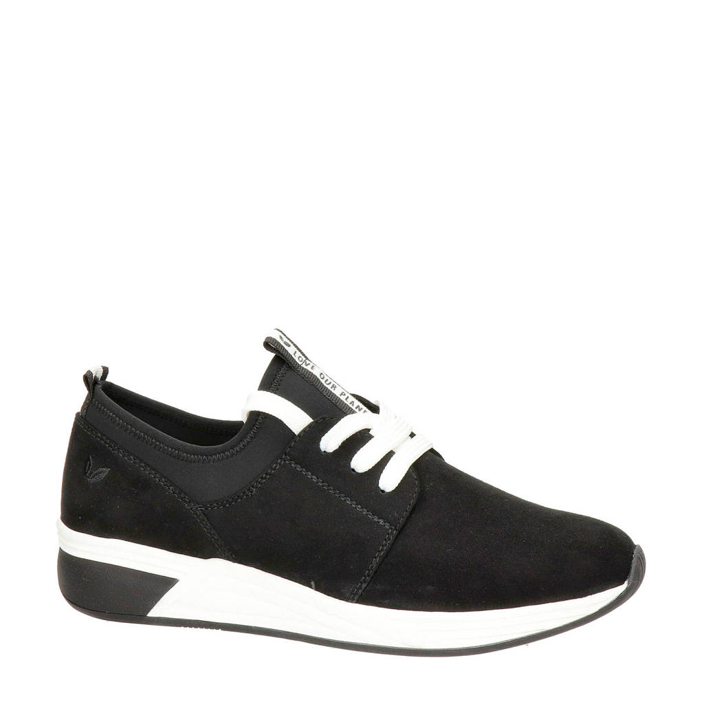 Marco Tozzi   sneakers zwart, Zwart