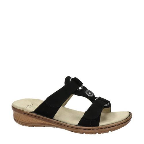 Ara comfort slippers zwart