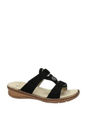 comfort slippers zwart