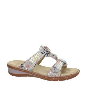 comfort slippers zilver