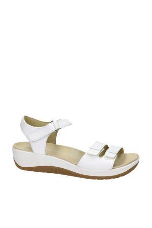 Napoli  leren sandalen wit