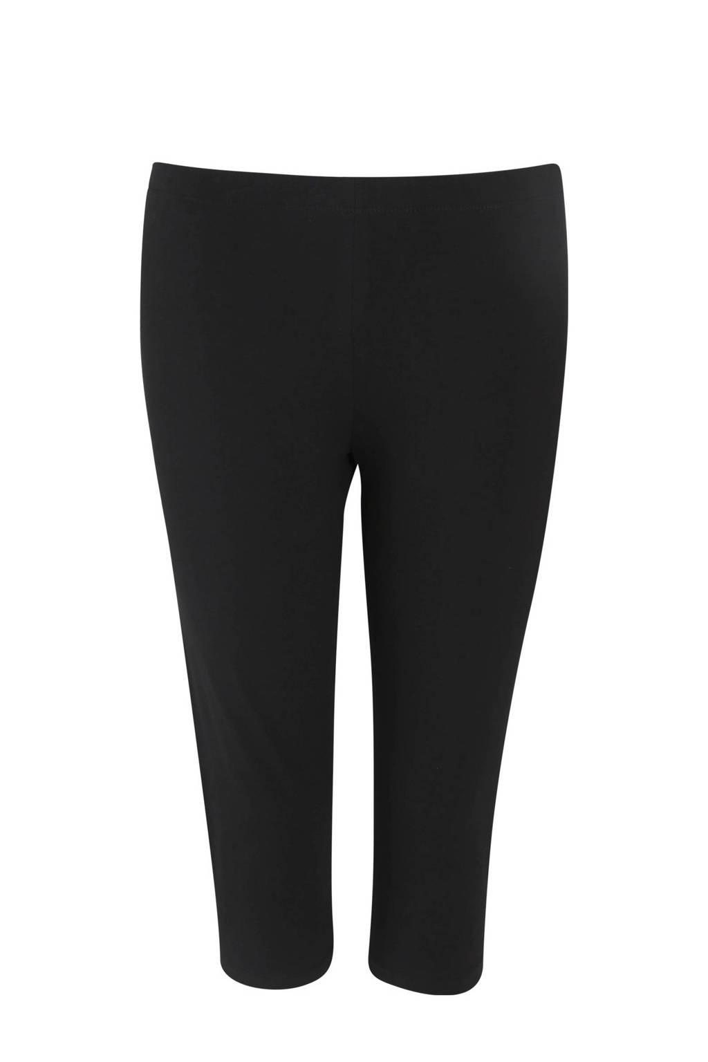 Paprika 7/8 legging zwart, Zwart