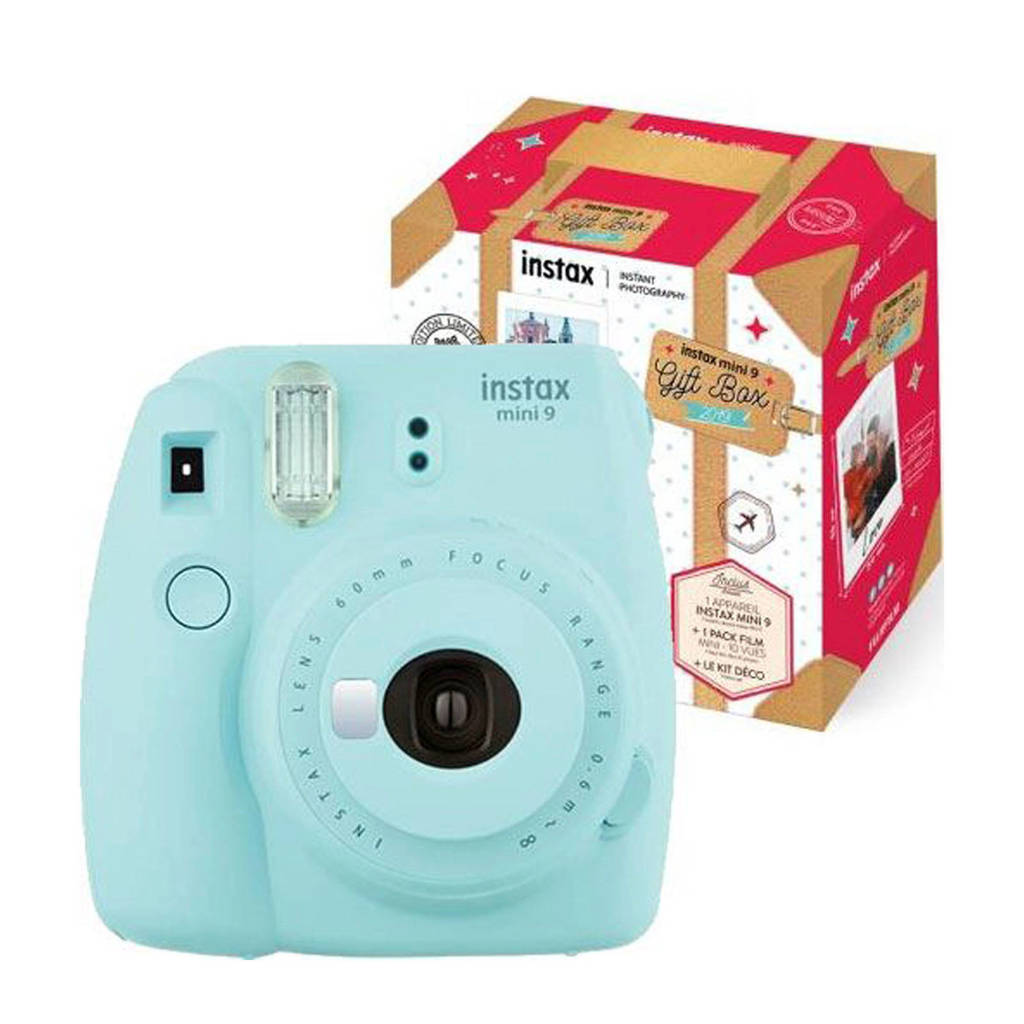 Fujifilm INSTAX MINI 9 IC instant camera, Lichtblauw