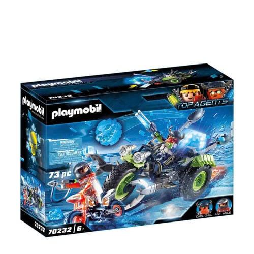 Playmobil Top Agents Arctic Rebels sneeuwtrike 702