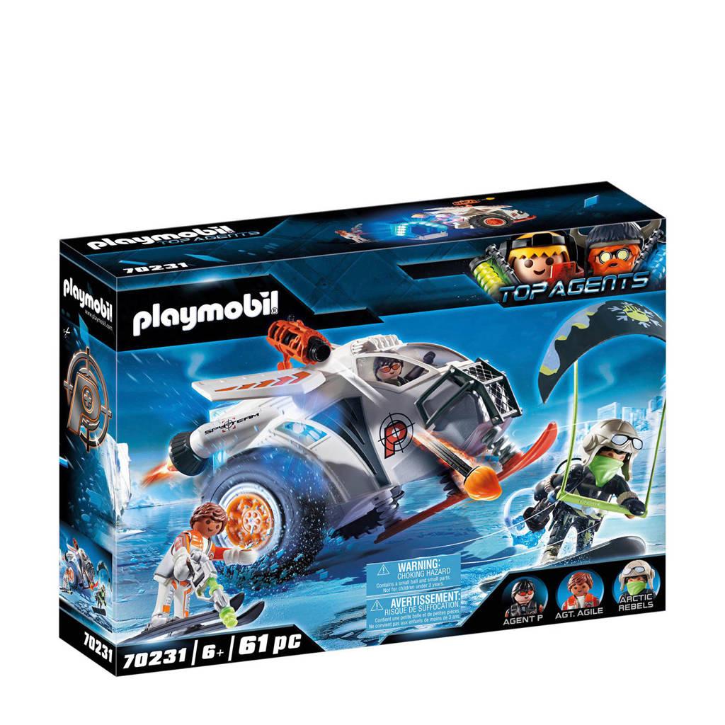 Playmobil Top Agents Spy Team sneeuwmobiel 70231