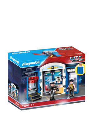 Playmobil City Actio Speelbox Politiestation 70306