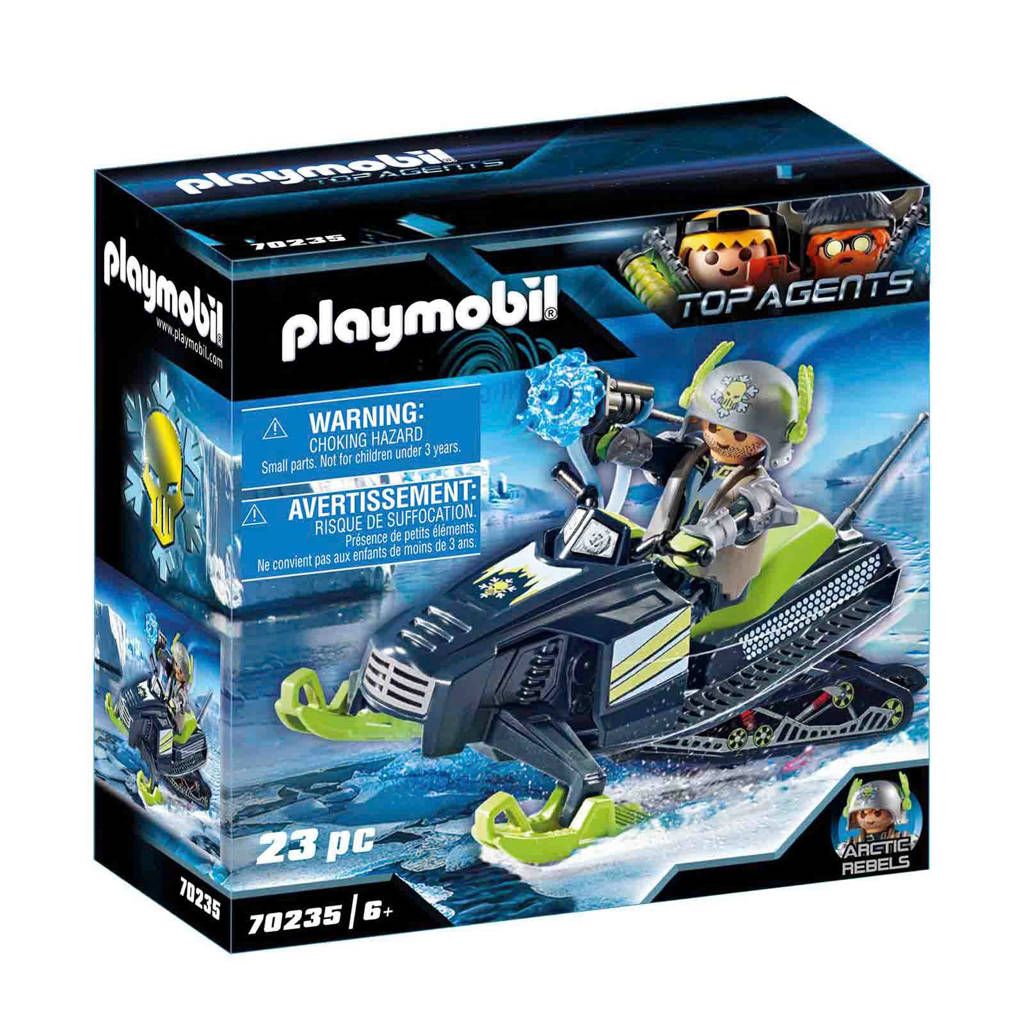 Playmobil Top Agents Arctic Rebels sneeuwscooter 70235