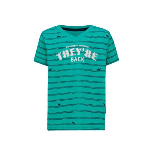 Noppies gestreept T-shirt Joplin van biologisch ka