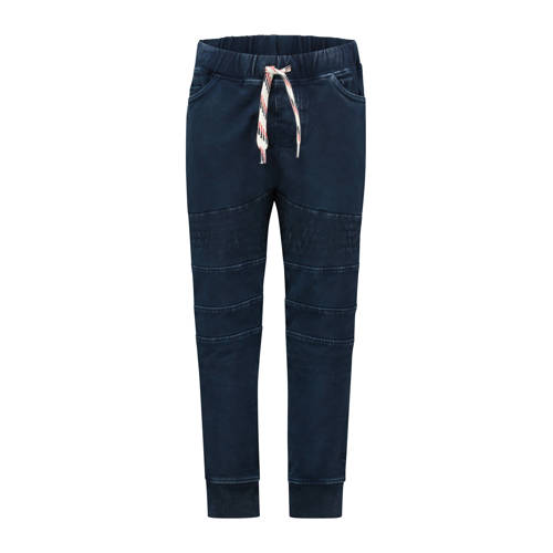 Noppies skinny joggingbroek Jenks donkerblauw