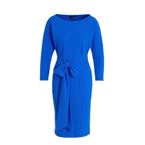 LaDress jersey jurk Caroline blauw