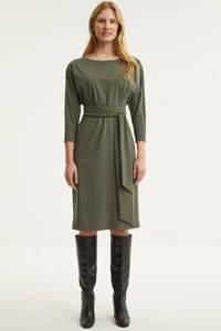 LaDress travelstof jurk Caroline groen, Groen