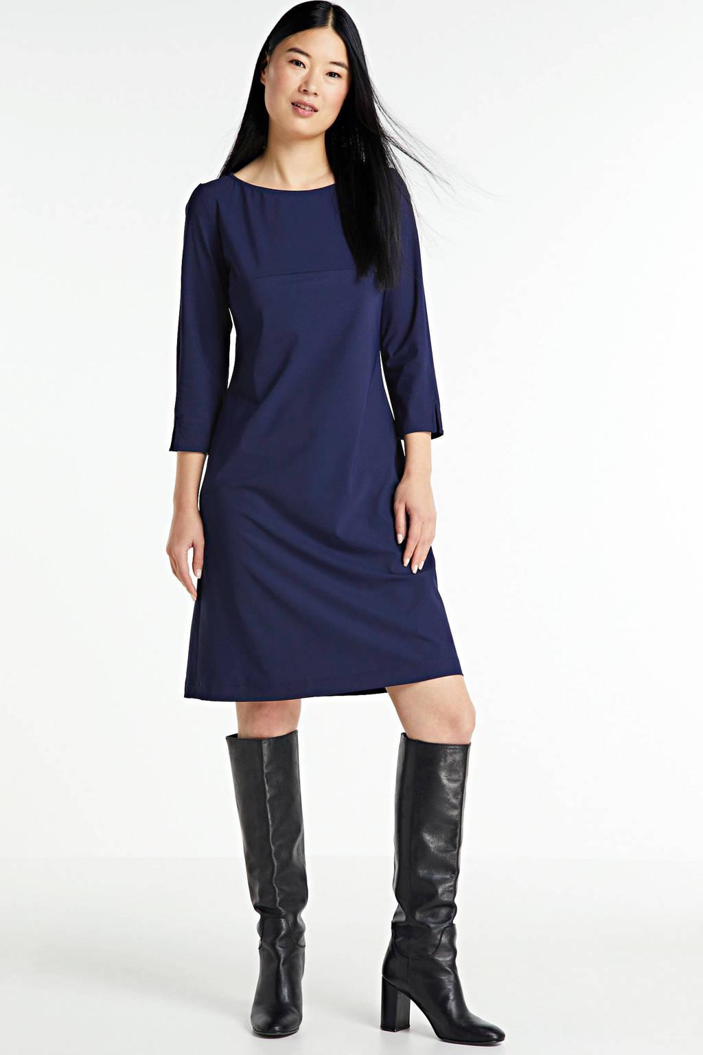 LaDress A-lijn jurk Linda donkerblauw, Donkerblauw