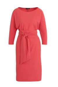 LaDress jersey jurk Caroline roze, Roze