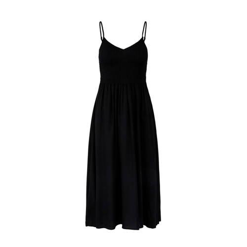 PIECES A-lijn jurk zwart