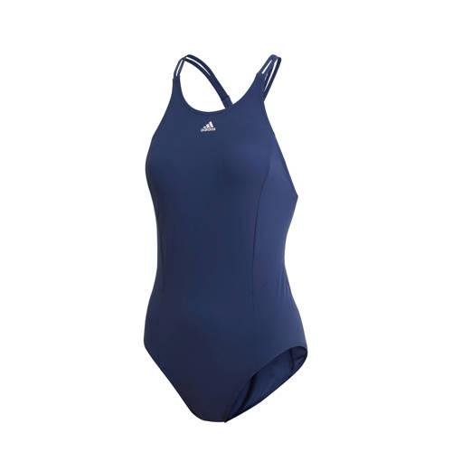 adidas Performance badpak donkerblauw