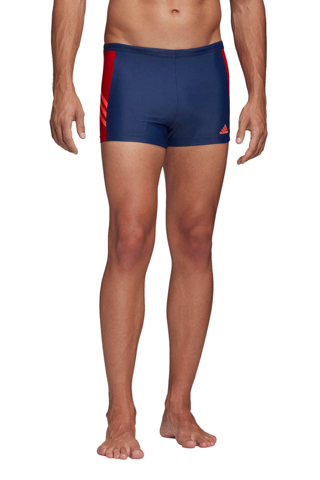 adidas Performance zwemboxer blauw/rood, Blauw/rood