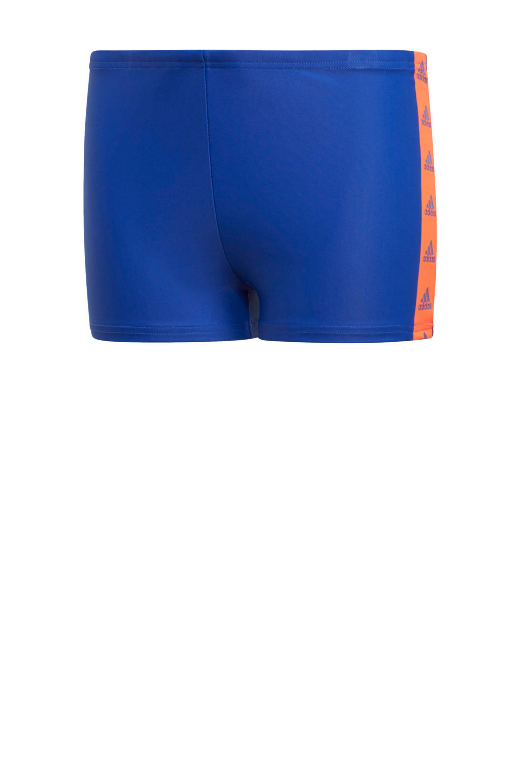 adidas Performance zwemboxer blauw, Blauw / Oranje