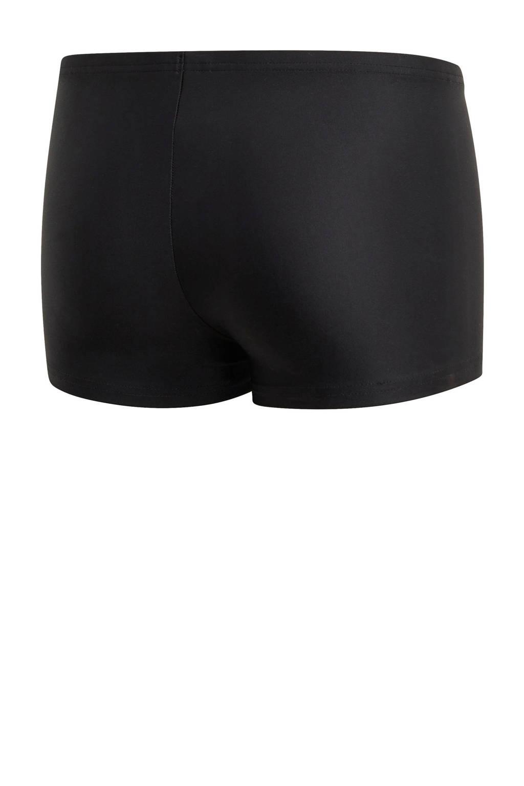 adidas Performance zwemboxer zwart, Zwart / Blauw