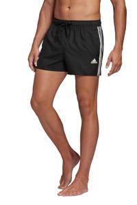 adidas zwemshort 3-Stripes zwart, Zwart / Wit