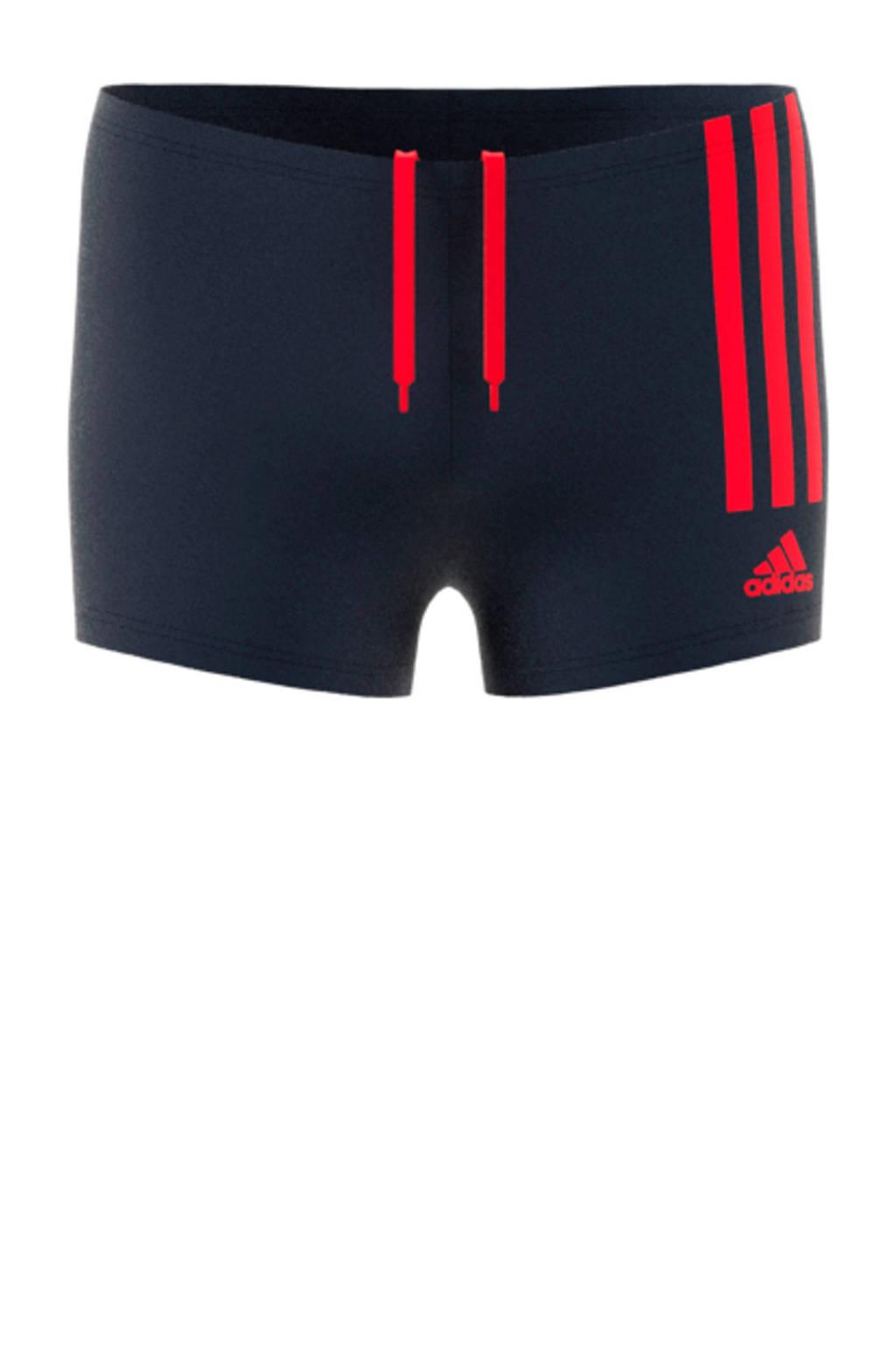 adidas zwemboxer zwart, Zwart / rood