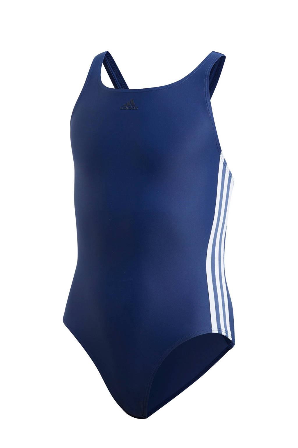 adidas Performance sportbadpak donkerblauw/wit, Donkerblauw/wit