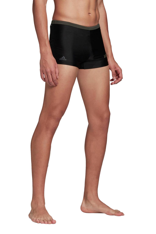 adidas zwemboxer Rainbow zwart, Zwart / Groen