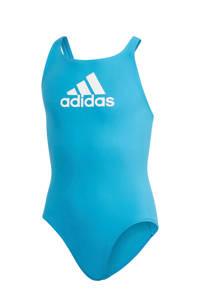 adidas Infinitex sportbadpak BOS blauw, Blauw / Wit