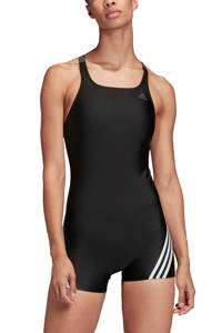 adidas Performance sportbadpak legsuit zwart, Zwart / Wit