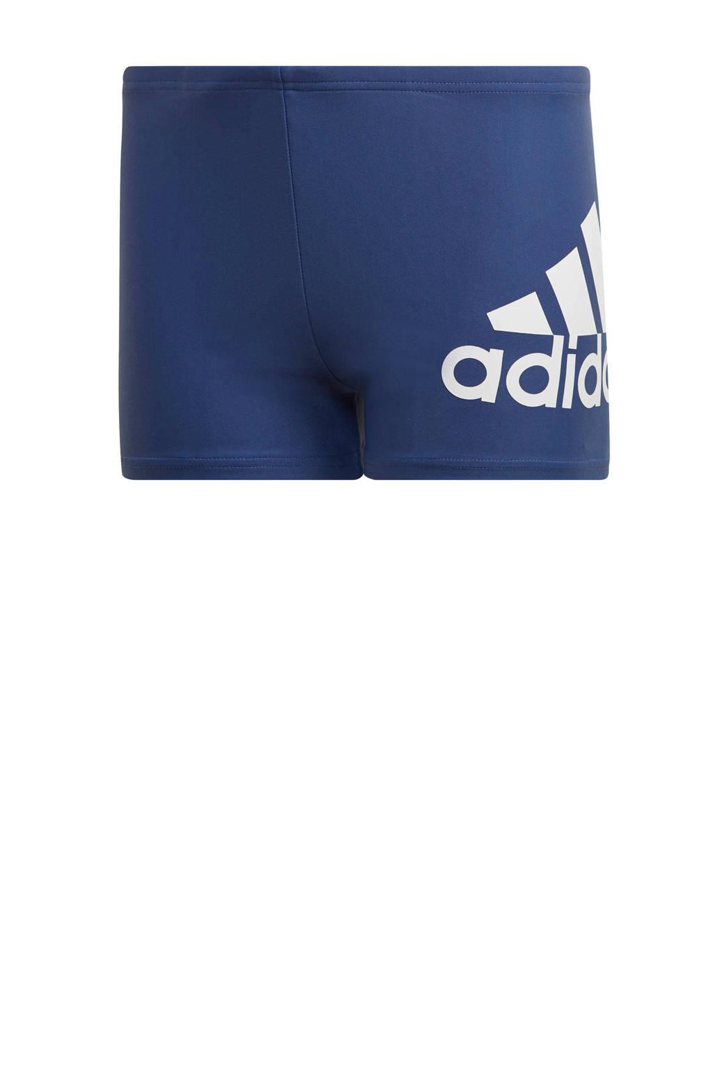adidas Performance zwemboxer marine, Marine/wit