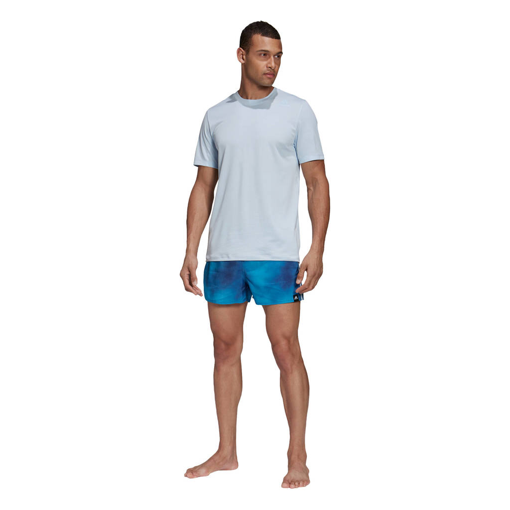 adidas Performance zwemshort blauw, Blauw / Wit