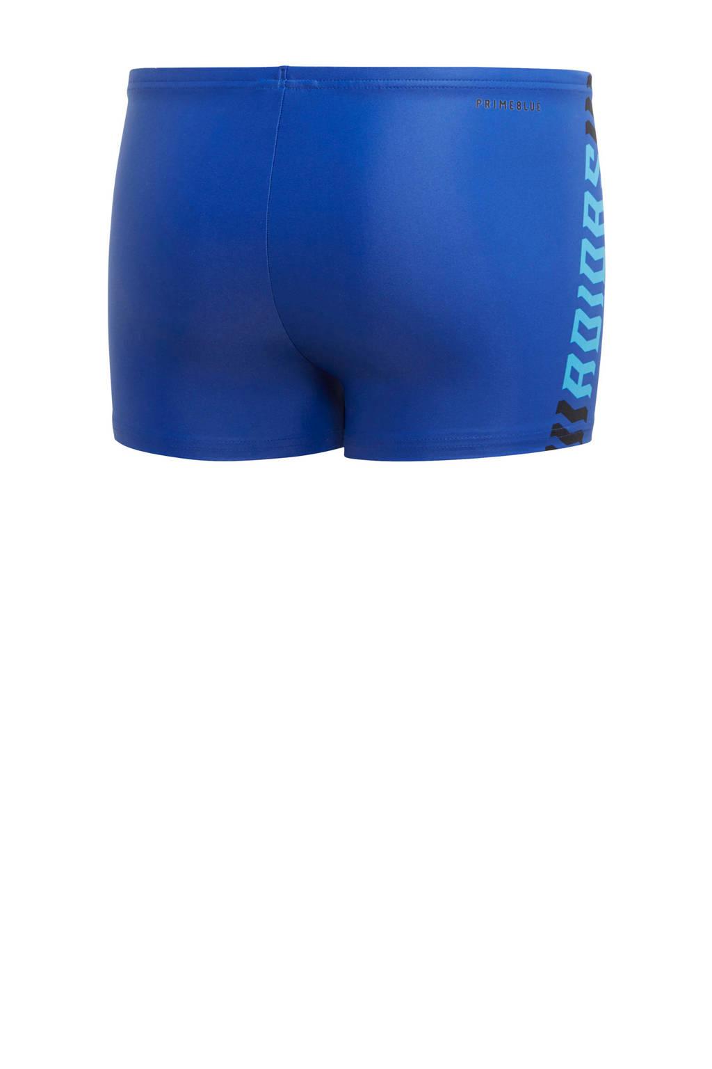 adidas Performance zwemboxer Fit blauw, Blauw