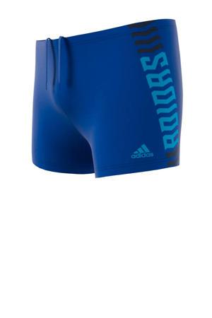 zwemboxer Fit blauw