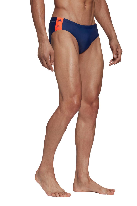 adidas zwembroek blauw, Blauw / Oranje